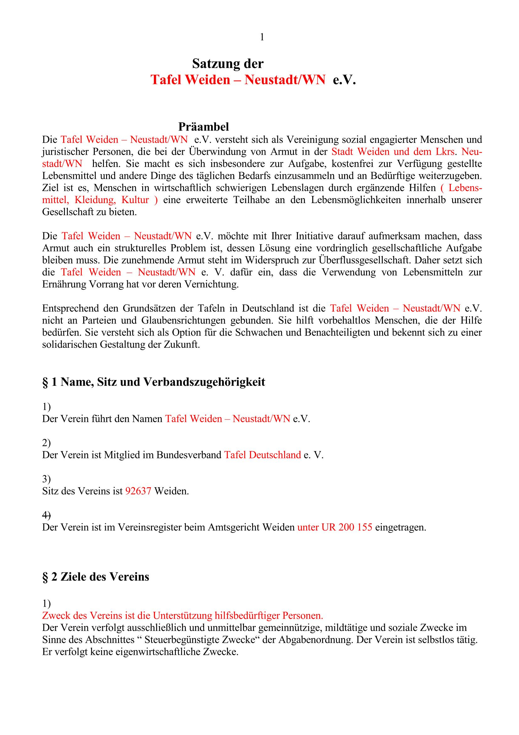 Satzung 2017. S.1